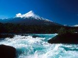 Petrohur Falls and Osorno Volcano