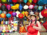 Lantern shop in the old town of Hoi An