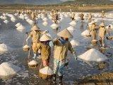 Nha Trang, Salt mines near Nha Trang City, Vietnam