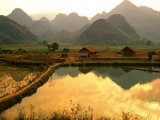 Striking scenery of Vietnam country side