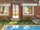 Villas, with private pool and balcony overlooking the rice fields.