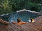 Private pool at all the suites in Camp Jabulani