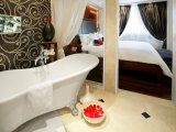 Bathroom at the Prestige Suite, Sofitel Legend, Hanoi