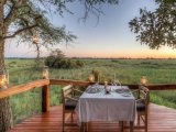 Camp Okavango - Private Dinner on the Viewing Deck