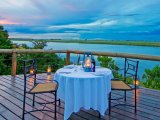 Chobe Game Lodge - Deck Dining