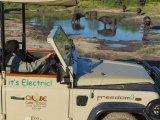 Chobe Game Lodge - Electric Safari Vehicle