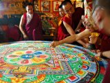 "Closing the ""Mandala"" ceremony"