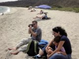 At the spectacular Nature Reserve of Frailes Beach