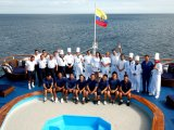 The Crew of the M/V Galapagos Legened