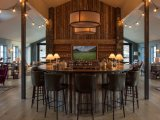 The bar at Deplar Farm