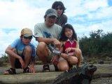 Meeting with a Marine Iguana (Galapagos Explorer II)
