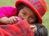 School Girls in Willoc, Sacred Valley