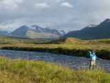 Fly Fishing at Deplar Farm, Northern Iceland