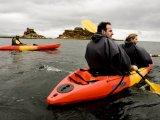 Kayaking excursion at the Titilaka Lodge