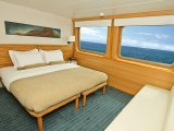 Jr. Suite aboard the M/V Galapagos sLegend