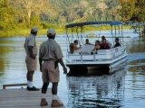 Excursion by boat in Lake Gatun