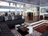 the Lounge aboard the Petrel