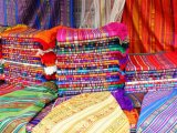 Textile in the Otavalo Indian Market