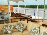 M/V aqua amazon cruise, upper deck lounge