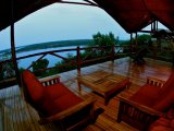 Mweya Safari Lodge - Tent Balcony