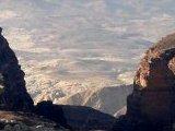 En Route to Petra, spectacular desert scenes