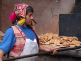 A Baker at the Pisac Market