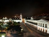 Night view from Hotel Plaza Grande, Quito