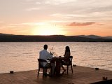 Romantic sunset dinner in lake Nicaragua - Jicaro Island Ecolodge