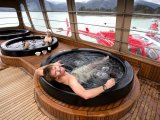 Relaxing at the SPA aboard the Atmosphere, Nomads of the Seas