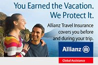 Protect your travel investment with travel insurance